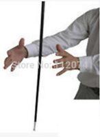 Aluminum Dancing Cane Stick Silver Magic Trick Accessories Illusion Stage Street