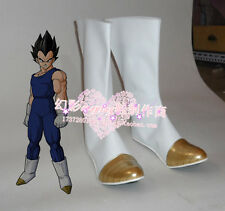 Dragon Ball Z Kai Vegeta Cosplay Costume Boots Boot Shoes Shoe