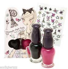 Limited Edition Etude House Wannabe Style Nails #1 So Hot Chic Stickers Paris