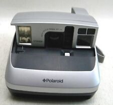Polaroid ONE 600 Folding Collapsible Vintage Instant Film Camera Silver