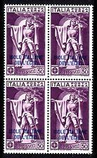 Italy / Aegean Islands - 1930 Airmail overprinted - Mi. 31 Bl./4 MNH