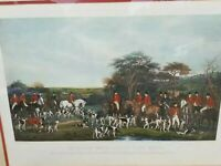 Sir Richard Sutton & the Quorn Hounds~ Engraved by Frederick Bromley~