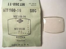 BULOVA NEWTON SUC MU160-16 GS MT360-11 Replacement Watch Crystal 2.55 x 1.95 mm