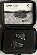 Pour Moto : CARDO SCALA RIDER Q1 X 2 (TeamSet) + 2X Audio kit - Quasi neufs