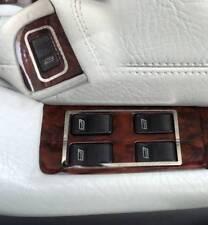 D Audi 80 90 B4 Chrom Rahmen für Schalter Fensterheber - Typ1