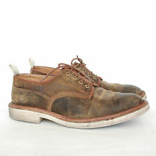 TRICKER'S x END distressed nubuck oxford dreby goodyear welted shoes 9.5/10.5
