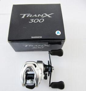 SHIMANO TRANX 300A 301A 300AHG 301AHG 400AHG 401AHG Baitcasting Fishing Reel