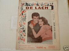 DE LACH 1959 NR 32 HORST BUCHHOLZ TIGER BAY M BRU,A HUNTER,KRUGER,HILLS,HYER,SHA