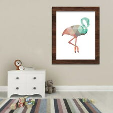 Geometric Unicorn Canvas Unframed Art Print Painting Wall Pictures Poster Decor