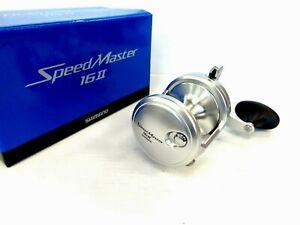 Shimano Speedmaster II 16II Two-Speed Lever Drag Reel - Right Handed - NEW