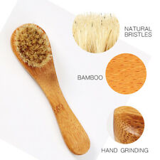 EB_ New Dry Wet Bristle Facial Massage Cleaning Brush Cleanser Scrubber Skin Car
