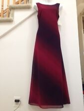 HARLOW Evening Dress Size 8/10, 100% Polyester, Fully Lined