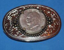1971 Liberty Coin Eisenhower Dollar - belt buckle
