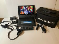 Sony BDP-SX910 Portable BR/DVD Player c/w Remote Charging Cables Bag Working