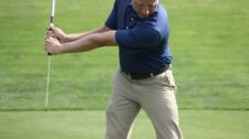 The Lag Stick Golf Swing Training Aid Used 3 Sticks