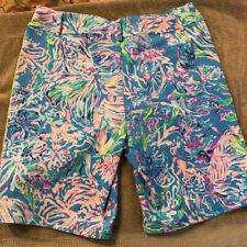 Lilly Pulitzer Luxletic Performance Stretch Shorts Size 12