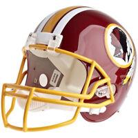 WASHINGTON REDSKINS RIDDELL VSR4 NFL FULL SIZE REPLICA FOOTBALL HELMET