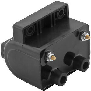 Twin Power High Performance Coil - Black - 5.0 OHM 10-2027 For Harley Davidson