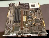 IBM Personal Computer 330 P75 FRU 11H9623 socket 5 PC motherboard main system