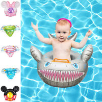 Fun Cartoon Baby Swim Ring Toddler Inflatable Float Seat for Swimming Pool Water
