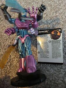 Marvel Heroclix Tri-Sentinel Figure With Card G001