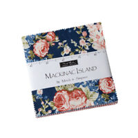 "CHARM PACK~MACKINAC ISLAND~MODA FABRIC~42-5"" SQUARES~MINICK SIMPSON-14890PP"