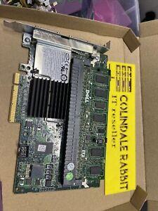 Dell 0J155F PERC 6/E SAS SATA RAID Controller PCIe x8 512MB Cache + BBU