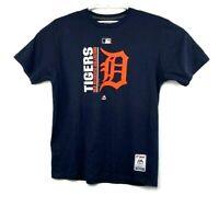 Detroit Tigers Majestic Triple Peak Cotton Shirt Size XL