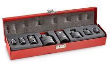 T&E Tools # 76345, 8 Pc, Impact Socket Adaptor Set