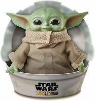 Stars Wars The Mandalorian Baby Yoda Plush Doll The Child 11 Inch Toy by Mattel