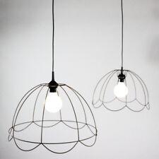 2er Satz Käfig Ghost Lampe Skelett Draht Gitter Leuchte Shabby Lamp vintage