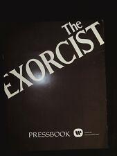 The Exorcist Pressbook 1974  Ellen Burstyn, Max von Sydow