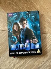 Doctor Who: The Complete Fifth Series DVD (2010) Matt Smith cert PG 6 discs