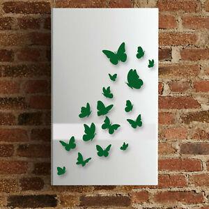 wall stickers adesivi murali decorazioni caldaia farfalle butterfly b0147