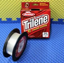 Berkley Trilene XL 8 lb 1000 yd Fishing Line CLEAR XLEP8-15 Economy Spool