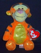 TY DISNEY TIGGER the TIGER SPARKLE BEANIE BABY- MINT w/ MINT TAGS