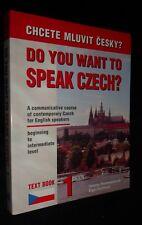 Do You Want to sSpeak CZECH / Helená Remediosová | B/New , 2005