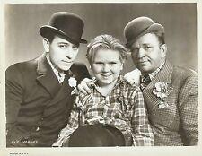 "GEORGE RAFT, WALLACE BEERY & JACKIE COOPER in ""The Bowery"" Original Vint. 1933"