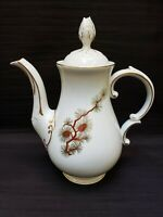 Fukagawa ARITA Hand Painted Teapot Made in Japan; Pine Cone Needles Gold Accents