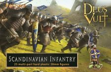 SCANDINAVIAN INFANTRY  - DEUS VULT - FIREFORGE GAMES - 28MM