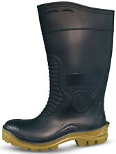 Traxium Green Mens Heavy Duty Non-Safety Gumboots - Brand New