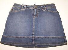 St. John's Bay Womens Jean Skorts Above Knee Blue Size 8 Petite