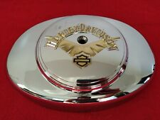 OBSOLETE GENUINE HARLEY V-WING AIR CLEANER COVER SOFTAIL DYNA TOURING V-LOGO