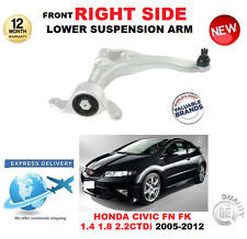 Para HONDA CIVIC Hatchback 2005-2012 brazo de control frontal inferior derecha de la pista FN FK