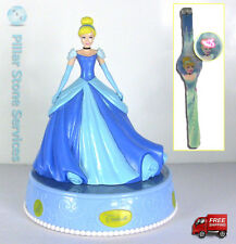 Disney Cinderella Coin Bank *Color Lights & Music* &  Magic Watch -BOTH VRY RARE
