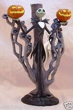 Rare Disney Nightmare Before Christmas Jack Skellington Candelabra Nwt