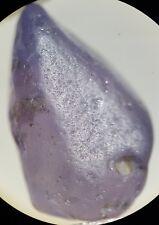 Saphir brut violet du Sri Lanka 4,20ct purple sapphire unheated gemstones ceylon