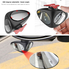 2 in 1 Auto Car Blind Spot Rear View Mirror Adjustable Wide Angle Convex  Mirror