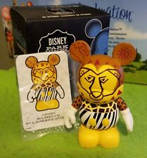 "Disney Vinylmation 3"" Park Set 2 Festival of the Lion King with Box and Card"
