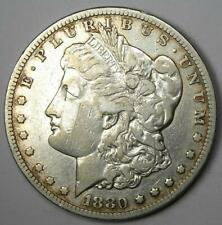 1880-CC Morgan Silver Dollar $1 - VF Details - Rare Carson City Coin!